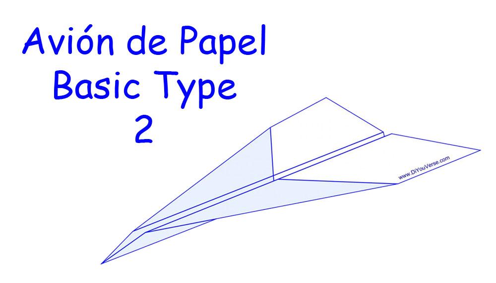 Avión de Papel – Basic Type 2