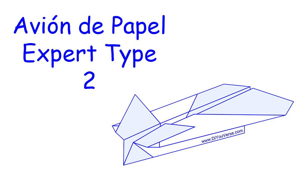 Avión de Papel – Expert Type 2