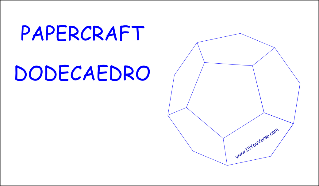 PaperCraft – Dodecaedro