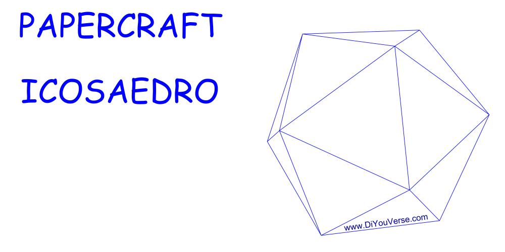 PaperCraft – Icosaedro