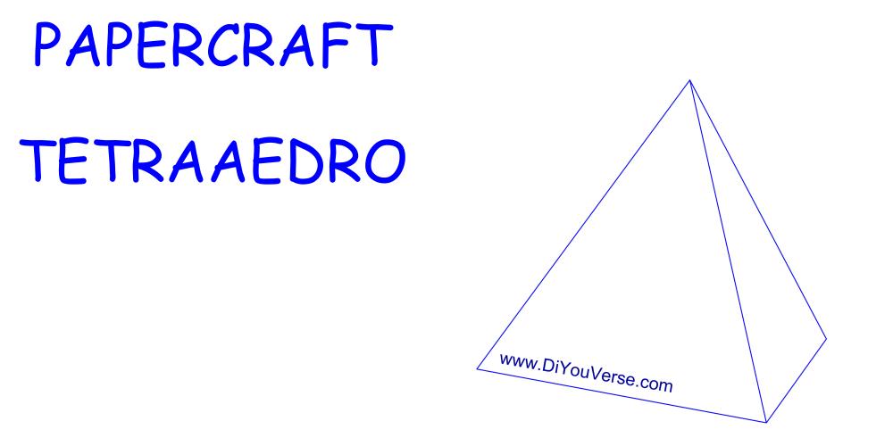 PaperCraft – Tetraedro