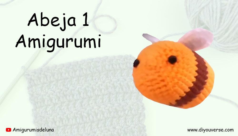 Abeja 1 Amigurumi
