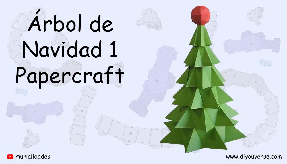 Árbol de Navidad Papercraft