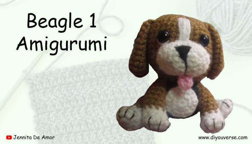 Beagle 1 Amigurumi