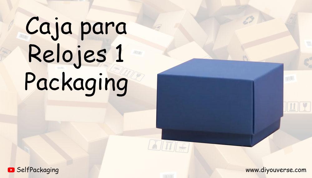 Caja para Relojes 1 Packaging