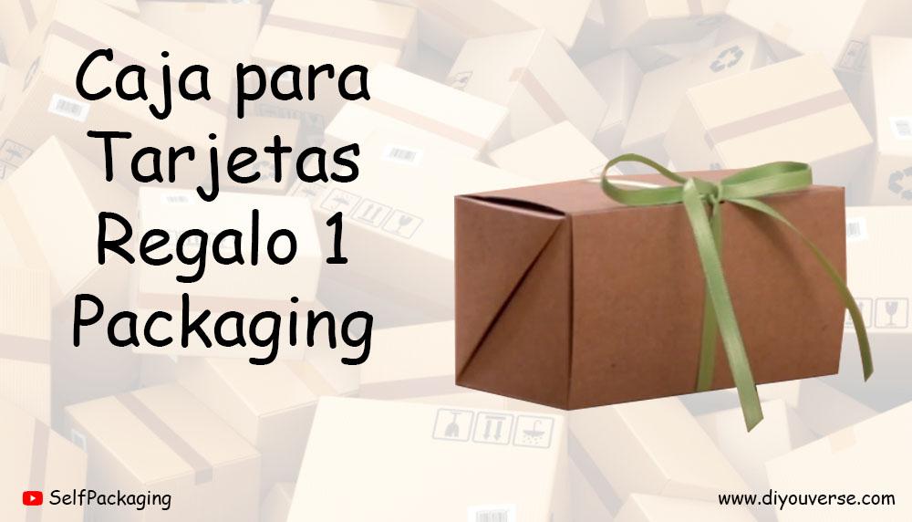 Caja para Tarjetas Regalo 1 Packaging