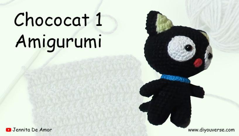 Chococat 1 Amigurumi