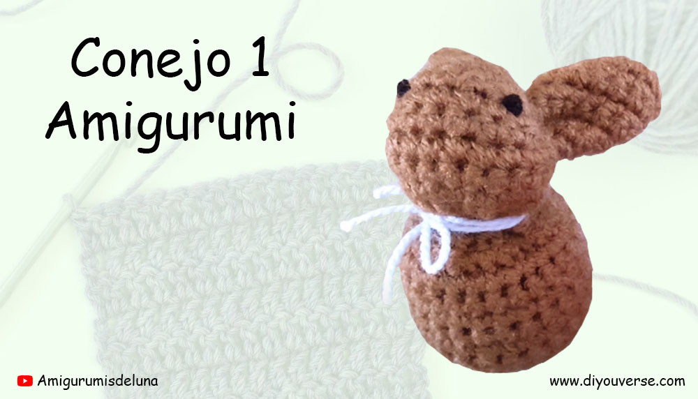 Conejo 1 Amigurumi