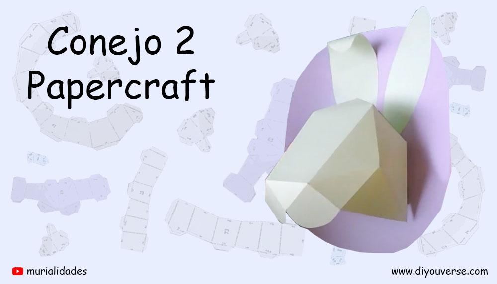 Conejo 2 Papercraft