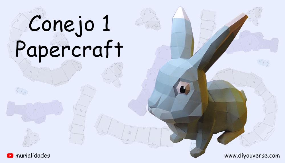 Conejo 1 Papercraft