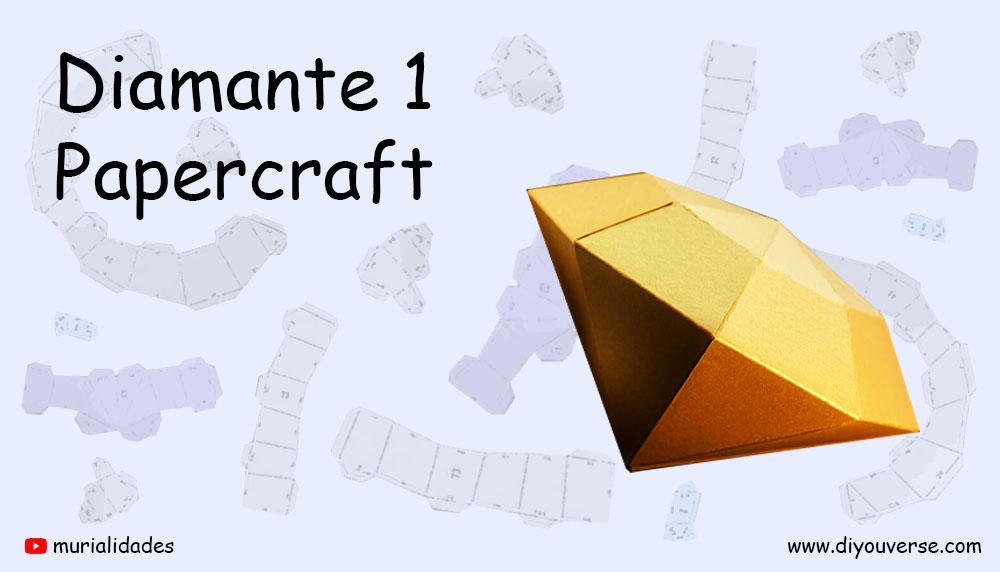 Diamante 1 Papercraft
