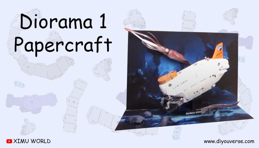 Diorama 1 Papercraft