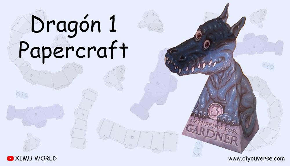 Dragón 1 Papercraft