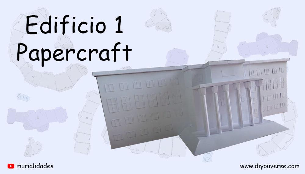 Edificio 1 Papercraft