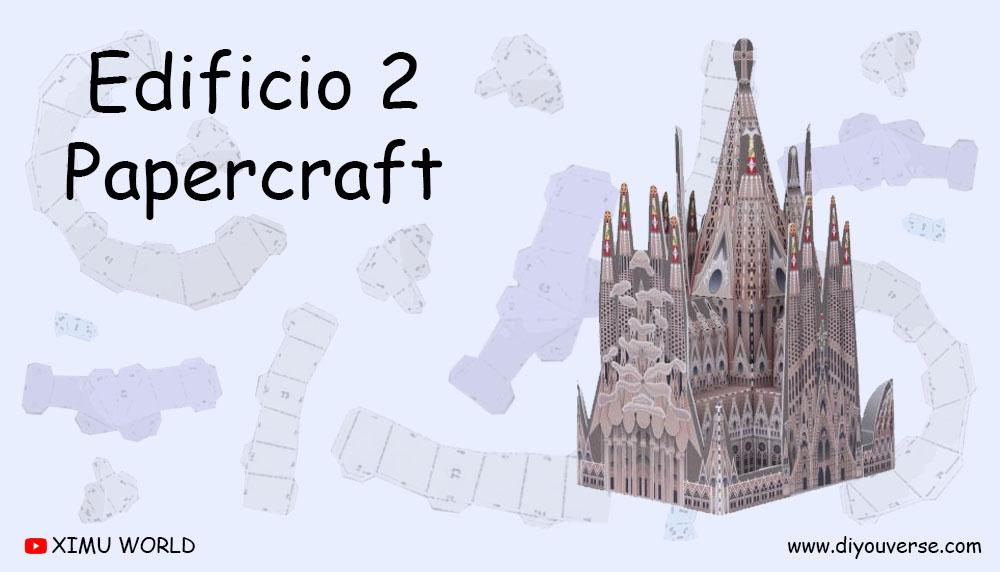 Edificio 2 Papercraft