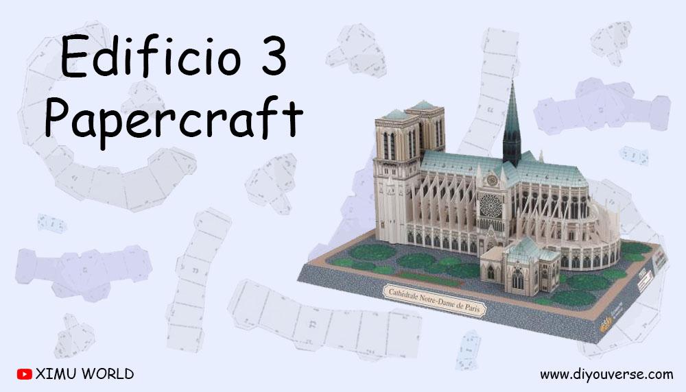Edificio 3 PaperCraft