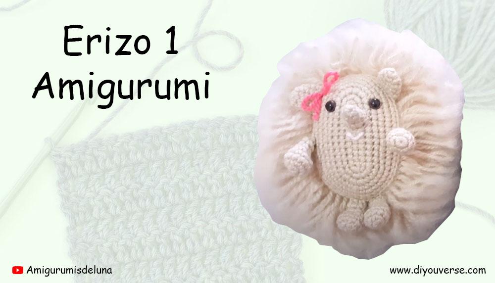 Erizo 1 Amigurumi