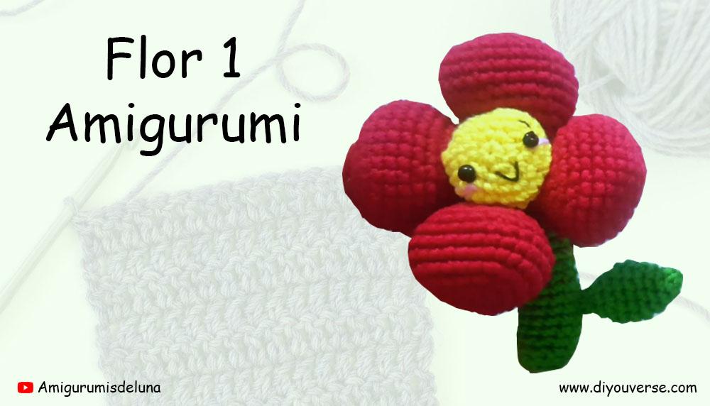 Flor 1 Amigurumi