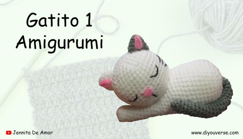 Gatito 1 Amigurumi