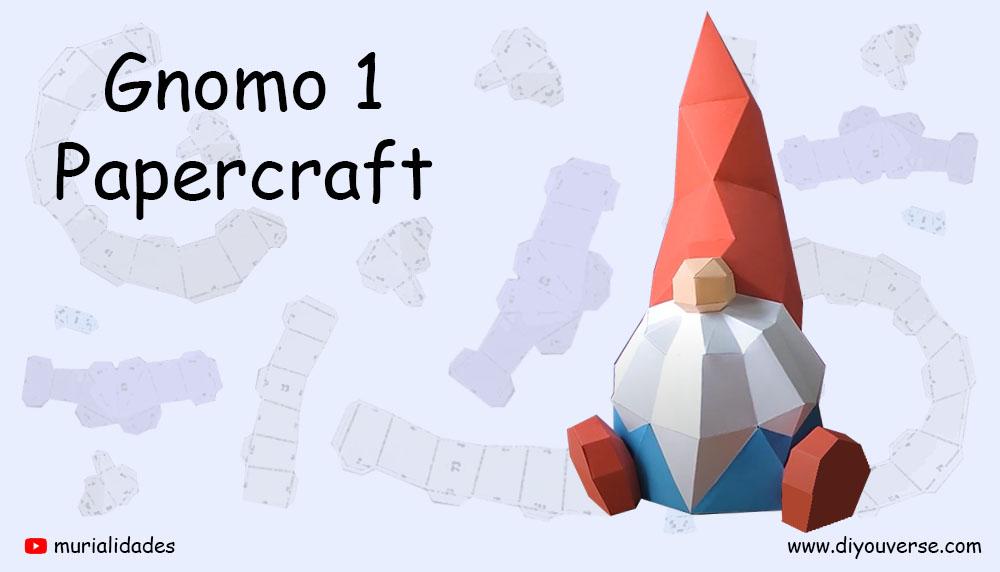 Gnomo 1 Papercraft
