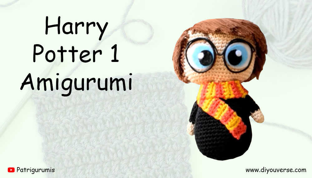 Harry Potter 1 Amigurumi
