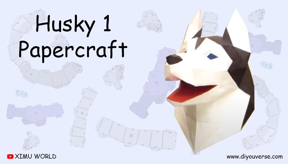 Husky 1 Papercraft