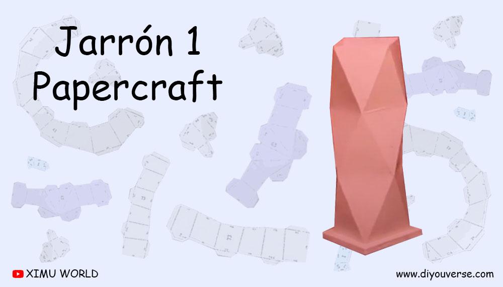 Jarron 1 Papercraft
