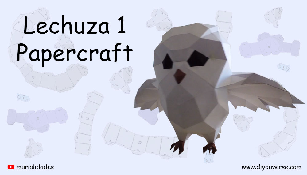 Lechuza 1 Papercraft