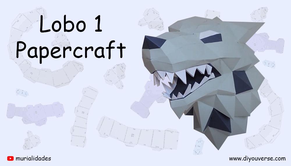 Lobo 1 Papercraft