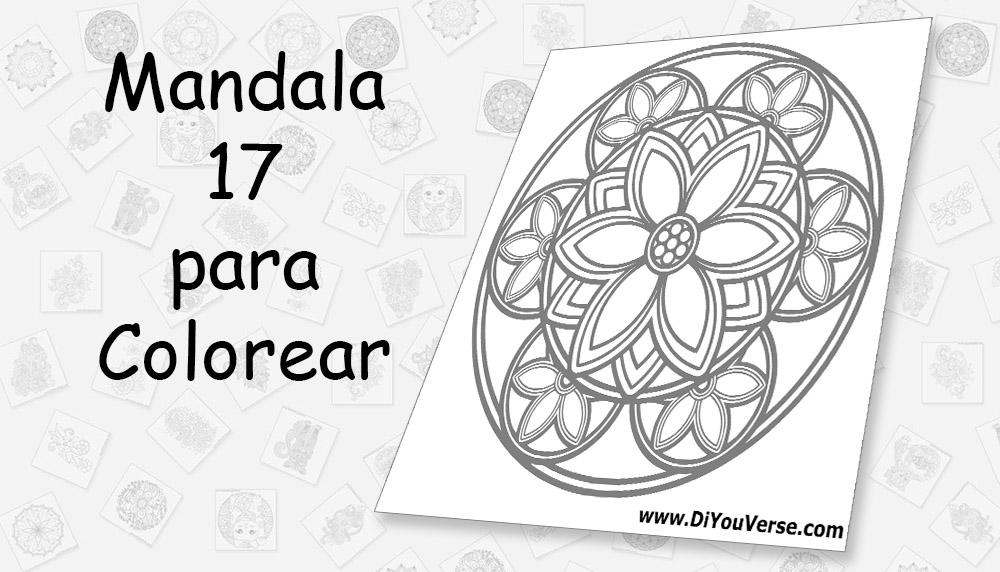 Mandala 17 para Colorear