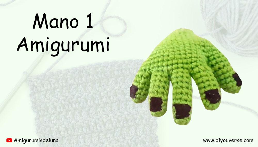 Mano 1 Amigurumi