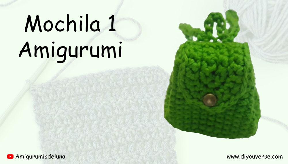 Mochila 1 Amigurumi
