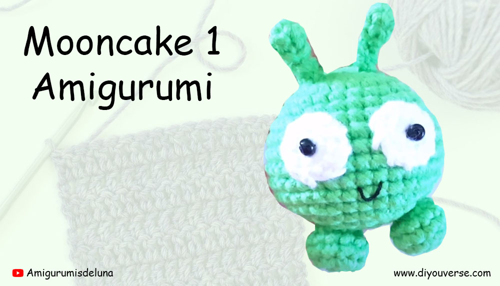 Mooncake 1 Amigurumi