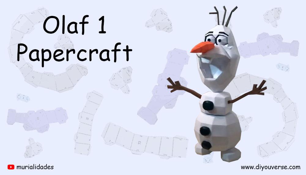 Olaf 1 Papercraft
