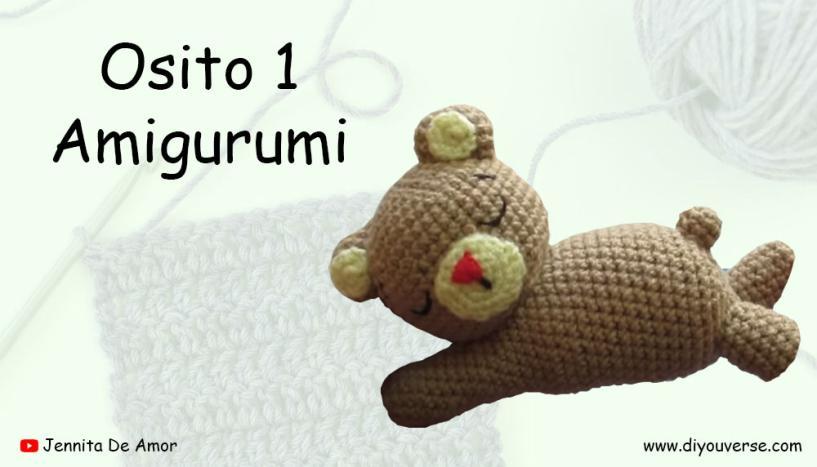 Osito 1 Amigurumi