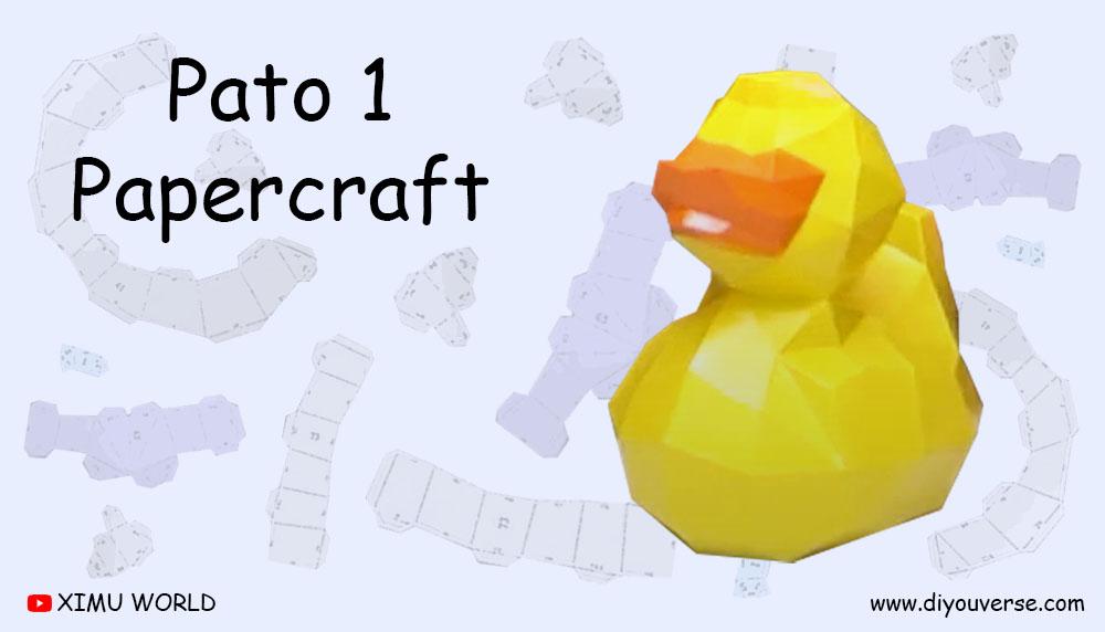 Pato 1 Papercraft
