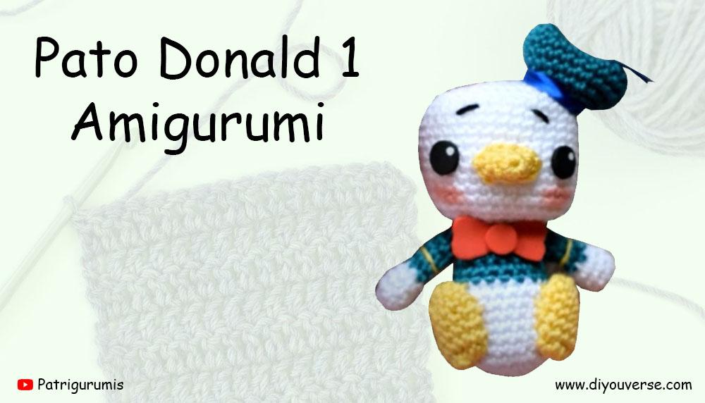 Pato Donald 1 Amigurumi