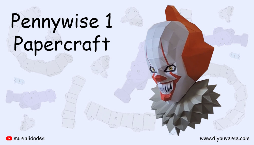 Pennywise 1 Papercraft
