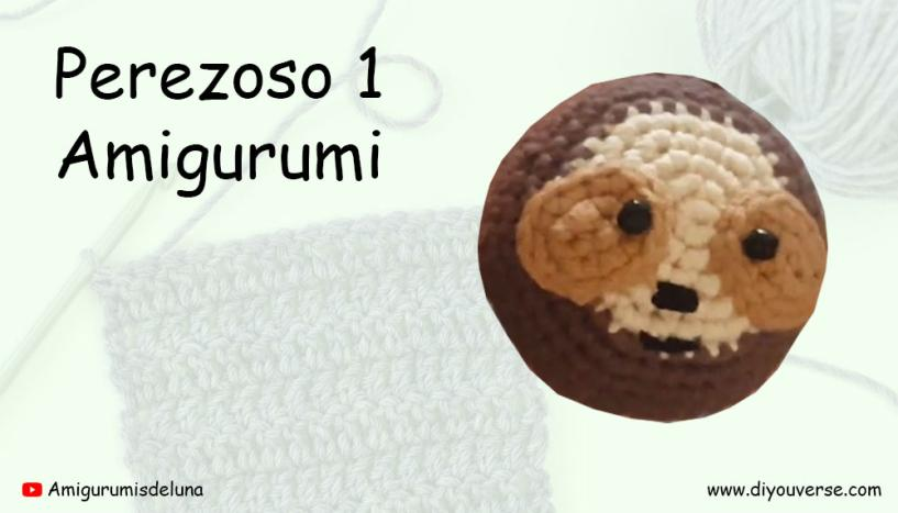 Perezoso 1 Amigurumi