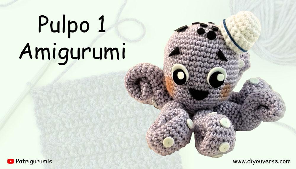 Pulpo 1 Amigurumi