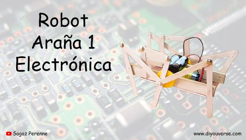 Robot Araña 1 Electronica