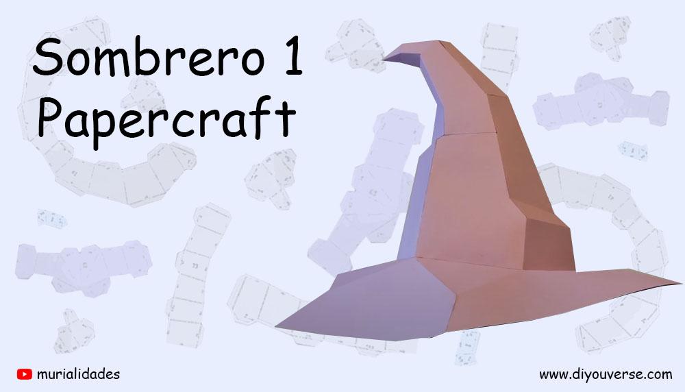 Sombrero 1 Papercraft