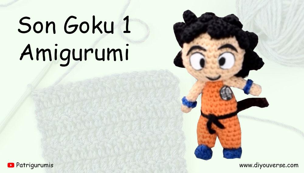 Son Goku 1 Amigurumi