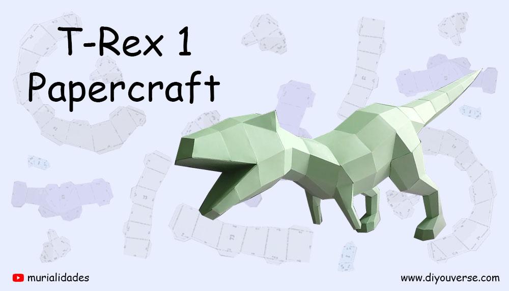 T-Rex 1 Papercraft