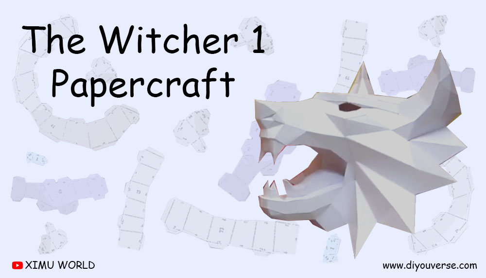 The Witcher 1 Papercraft