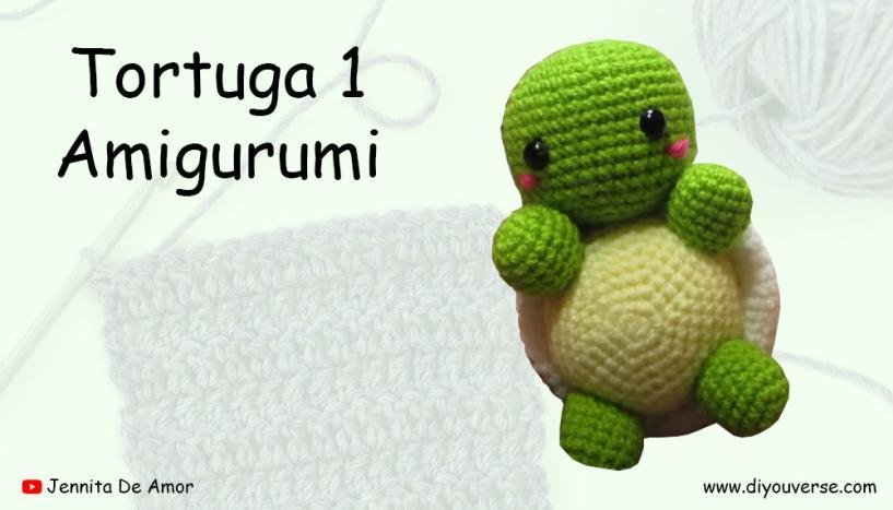 Tortuga 1 Amigurumi