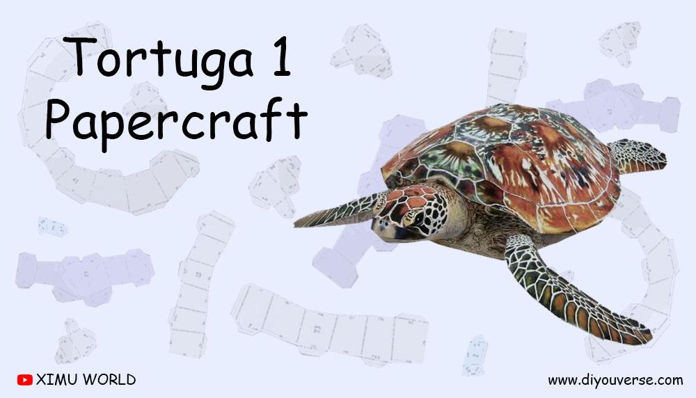 Tortuga 1 Papercraft