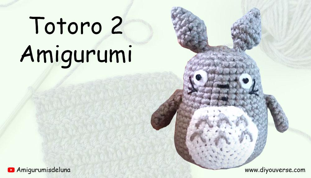Totoro 2 Amigurumi