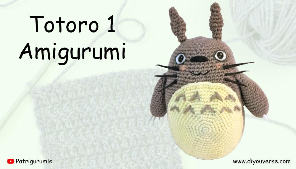 Totoro 1 Amigurumi