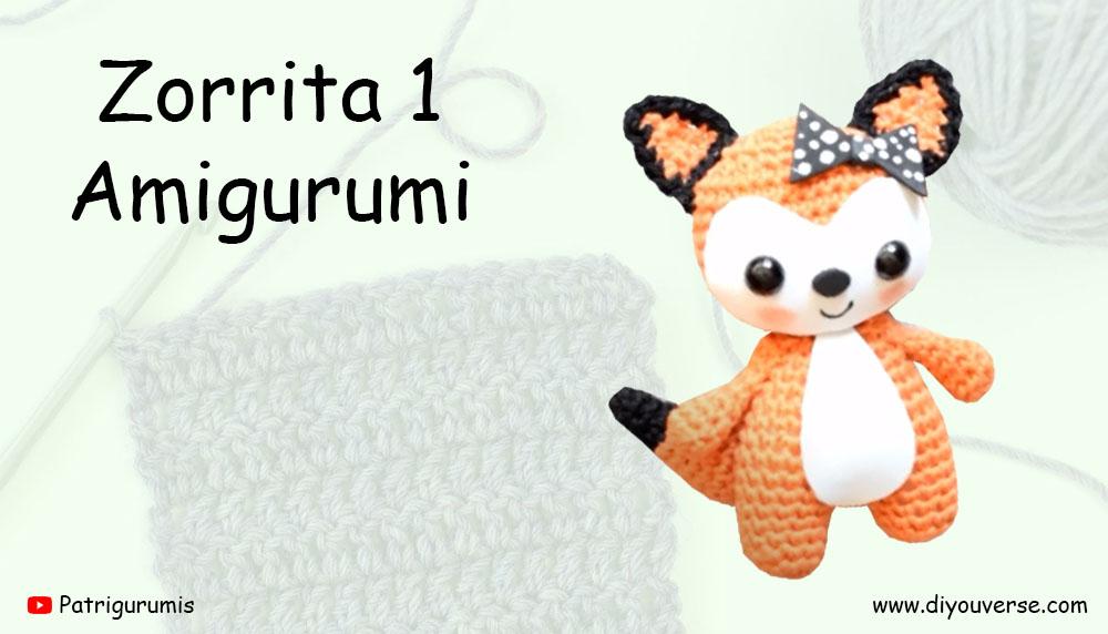 Zorrita 1 Amigurumi